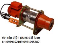 tời cáp diện duke DU-160;DU-300A;DU-2...