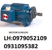 motor giảm tốc SUNGDO 2.2KW X 4P;moto...