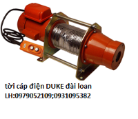 tời cáp điện duke DU-212;DU-213;DU-21...